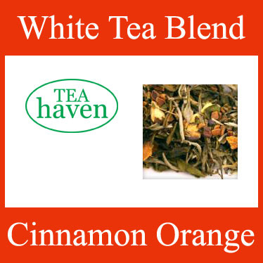 Cinnamon Orange White Tea Blend