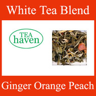 Ginger Orange Peach White Tea Blend