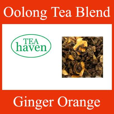 Ginger Orange Oolong Tea Blend