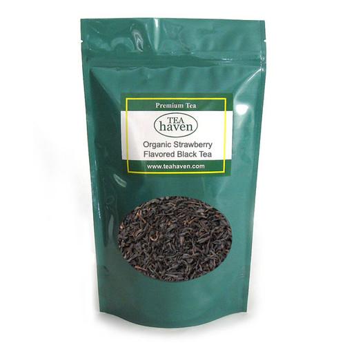 Organic Strawberry Flavored Black Tea