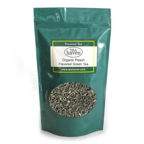 Organic Peach Flavored Green Tea