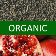 Organic Pomegranate Green Tea