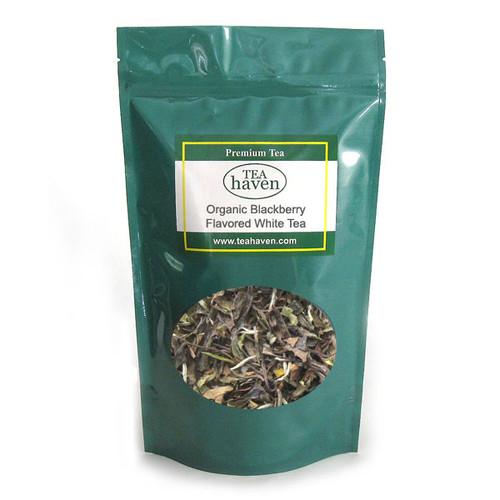 Organic Blackberry Flavored White Tea