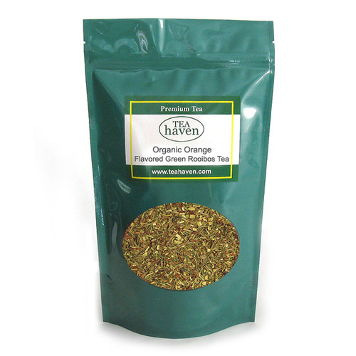 Organic Orange Flavored Green Rooibos Tea