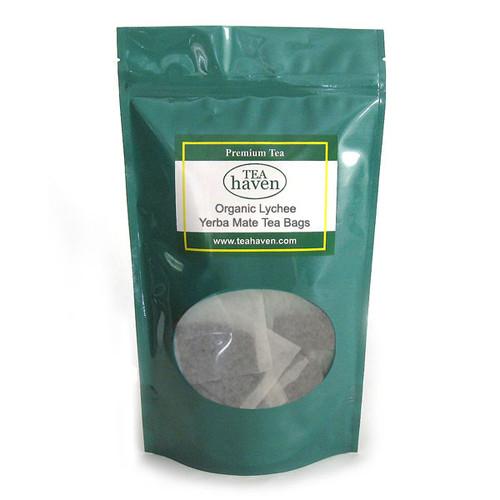 Organic Lychee Yerba Mate Tea Bags