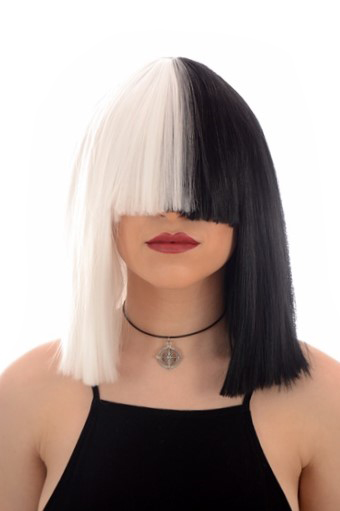 Sia Black White Wig Back In Stock Celebwigs Hair By
