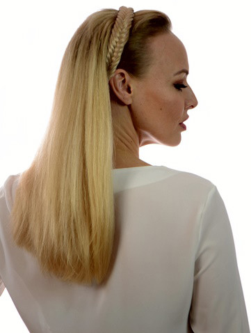 Fishtail Hair Band Candy Blonde