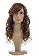 Jen Hawaiian Brown Human Hair Blend Wig