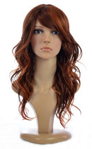 Jen Burnt Amber Human Hair Blend Wig