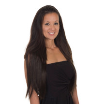 Click & Flick hair extensions Dark Chocolate Brown