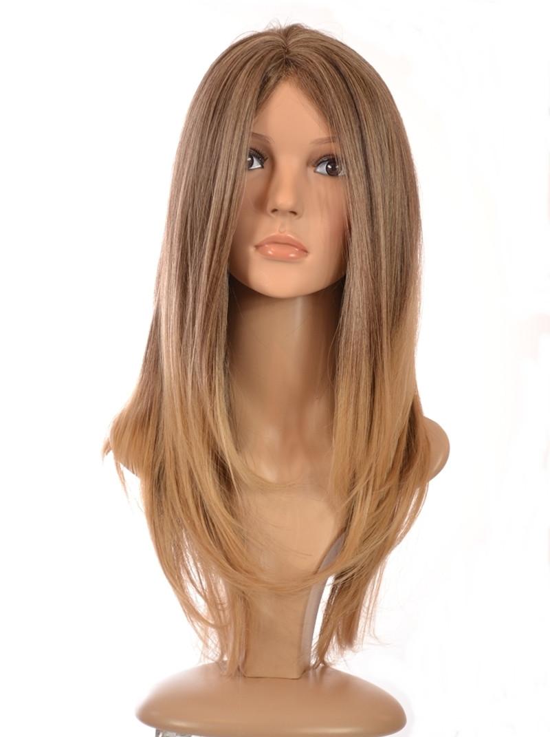 Blonde Straight Wig 49