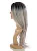 Snooki Charcoal Grey wig