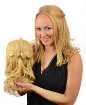 Clip in heat style able hair extensions tihaira braid fawcett blonde pmusecretfo Choice Image