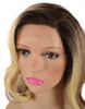 Blair Chocolate Blonde Lace Front Human Hair Blend Wig