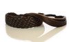 Elasticated Rattan Headbands Dark Chocolate Brown