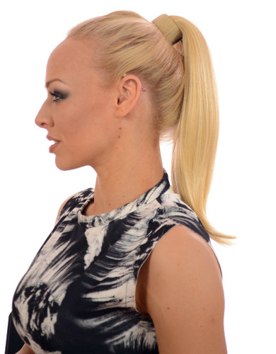 Clip In Snap Band Ponytail Hairpiece - Candy Blonde