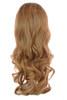 Tihaira Wave Neutral Blonde Ombre Clip In Half Wig