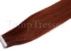 Shade 99J Rich Brown 100% Human Hair Tape In Hair Extensions