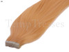 Shade 60 Blonde 100% Human Hair Tape In Hair Extensions