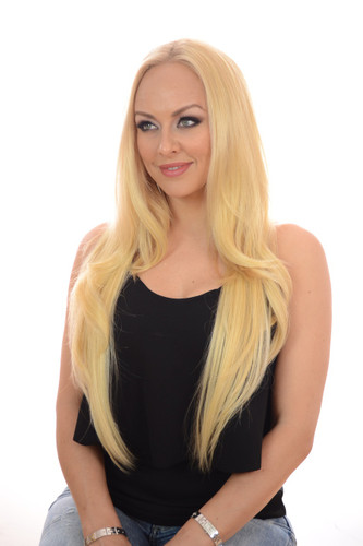 V Tress Natural Wave Weft Hair Extension Candy Blonde