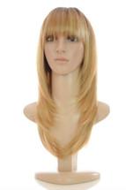 Katherine Praline Creme Rooted Blonde Wig