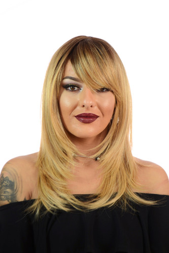 Katherine Praline Creme Long Blonde Wig