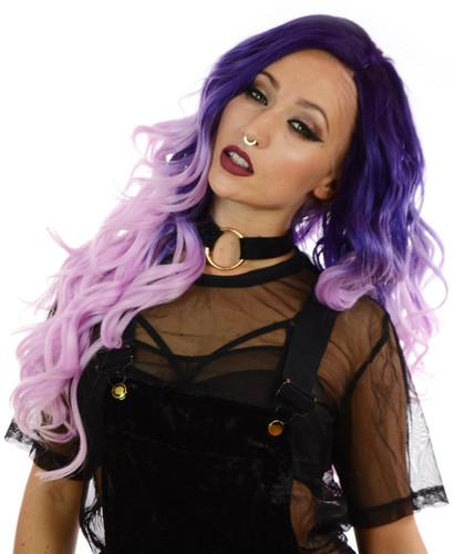 Carnival-Doll Wig Pink Lavender