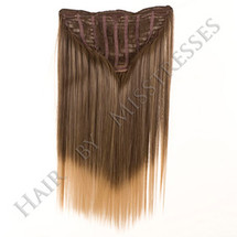 Frappe Clip in ManeMaker straight Hair Weft.