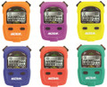 ULTRAK 460 Stopwatch RainBow Six-Pack Special 1/1000 Second Resolution 16 Lap/Split Memory