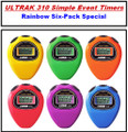 ULTRAK 310 Timers - RainBow Six-Pack Special