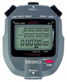 SEIKO S143 300-Lap Memory Stopwatch with Printer Port