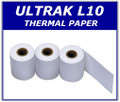 ULTRAK L10-PAPER: Thermal Printer Paper for ULTRAK L10 Multi-Lane Timers