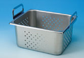 Branson Stainless Steel Perforated Tray