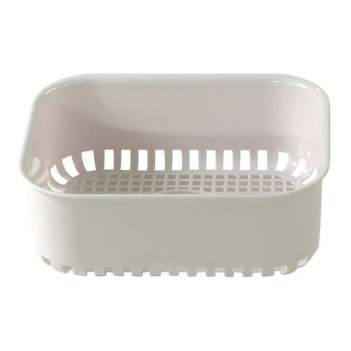 Sturdy, rigid plastic insert basket included with the Gemoro 1.2