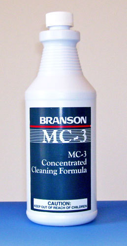 Branson MC-3 Metal Cleaner - The most popular cleaning concentrate for auto parts.
