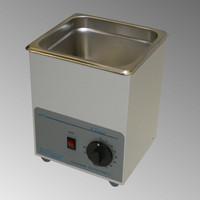 Sonicor S-50 Ultrasonic cleaner, S-50HT shown.