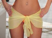 Yellow Mesh Wrap