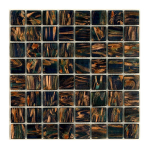Twilight 0.75 x 0.75 Glass Mosaic Tile
