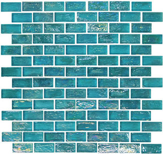 GL006 Bahama Blue Rectangle