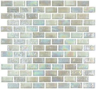 "Glass-Mosaic-backsplash-tile-kitchen-Wall-Bathroom. Tile applications   Suitable for interior and exterior use, walls, countertops, backsplashes and pool borders.     Dimensions    Tile size: Approx. 1-5/8"" x 3/4""   Thickness: Approx. 1/4""  Grout joint: Approx. 1/8""  Sq. ft. per sheet: Approx. 1.0 Tile per sheet: 98 Mounting: Mesh-backed"