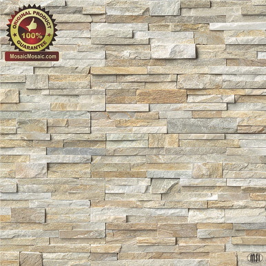 Ms International Golden Honey Ledger Panel 6 X 24 Natural Slate Wall Tile Lpnlqgldhon624