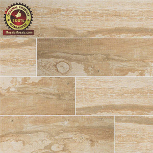 Salvage Honey 6 x 40 Wood Look Porcelain Tile