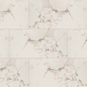 "MS International Pietra: Statuario 12"" x 24"" Porcelain Tile NPIESTA1224P"