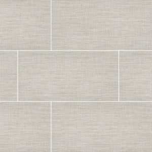 "MS International TekTile: Lineart Ivory 12"" x 24"" Porcelain Tile NTEKLINIVO1224"