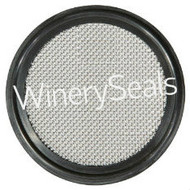 "2.50"" EPDM 20 Mesh Screen Gasket"