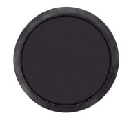 "19 1/8"" ID Black EPDM Full Face Manway Gasket with Alignment Bead"