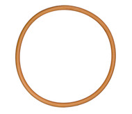 "14"" ID Tan Natural Rubber Manway Gasket"