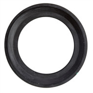 """1.5"""" Black EPDM Bevel Seat Sanitary Gasket"""