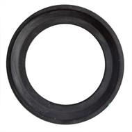 """4.0"""" Black EPDM Bevel Seat Sanitary Gasket"""