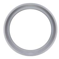 "4.0"" White Silicone Bevel Seat Sanitary Gasket"
